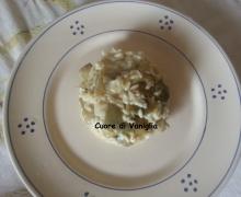 Riso con patate e carciofi